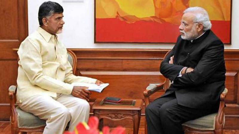 Capital clue: Is Naidu cosying up to BJP again?