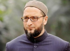 Hyderabad MP Owaisi questions RAF flag march at Charminar