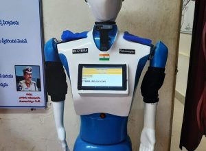 Vizag police inducts Robo CYBIRA to detect bombs and crackdown on suspects