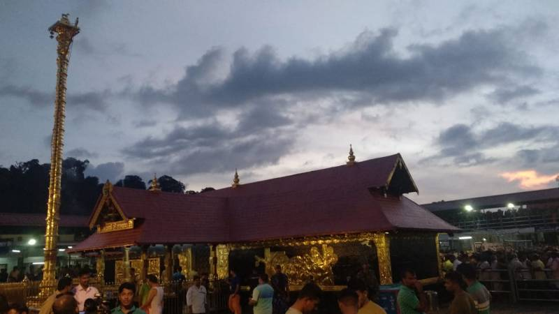 Sabarimala temple opens: 10 women from Andhra sent back for not carrying offering