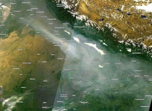 Public Health Emergency declared in Delhi: satellite images tell how bad the pollution is