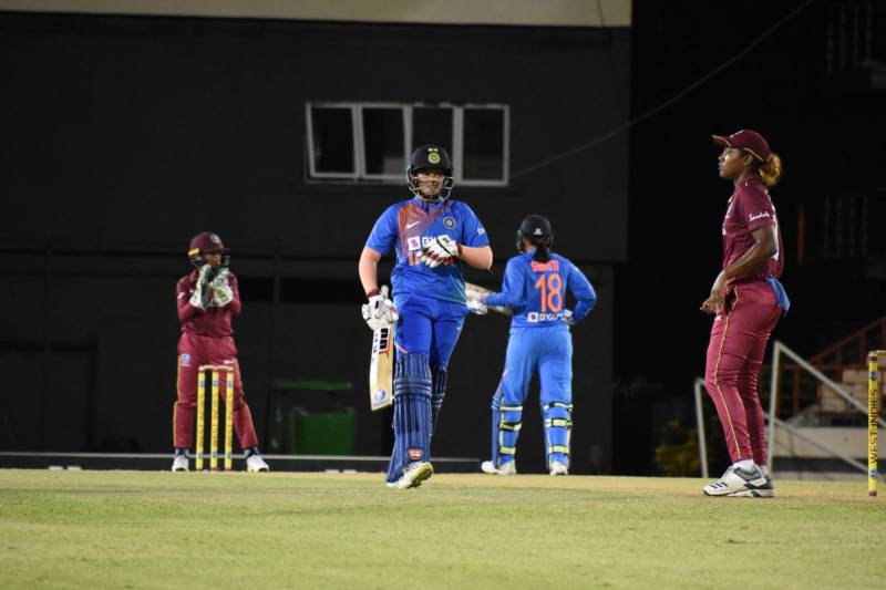 India's Women beat West Indies by 84 runs in the first T20 match in Windies