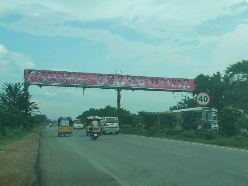 TRS member fined by GHMC for raising unauthorised banner