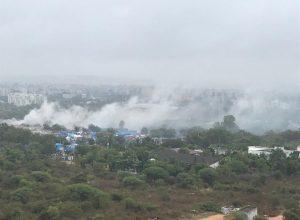 Hitec residents cry foul of garbage burning