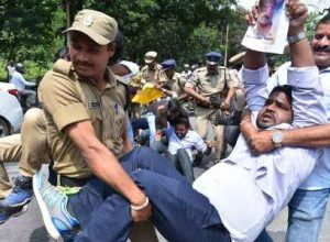 Chalo Tankbund turns tense; striking RTC employees clash with police