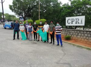 These Hyderabad Techies turn 'ploggers' and clean Narapally forest reserve in Uppal