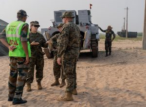 Indian and the US forces conduct joint exercise in Kakinada