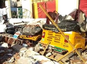 Four die in a wall collapse at Amberpet in Hyderabad