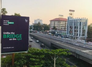 Kochi's infamous bridge with gaps now enters ad world