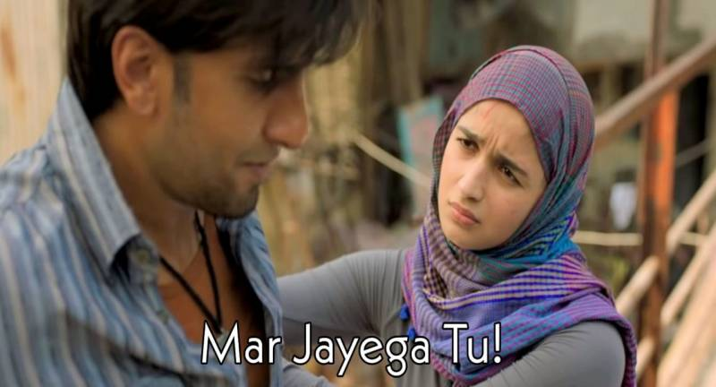 Alia Bhatt'mar Jayega Tu' Gullly Boy Meme