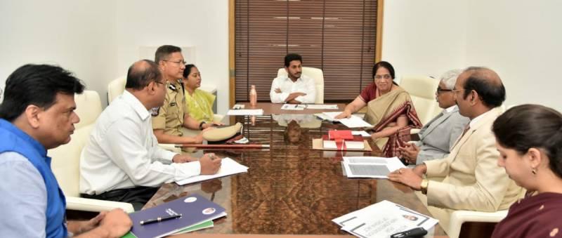 Andhra Pradesh cabinet order probe into insider trading
