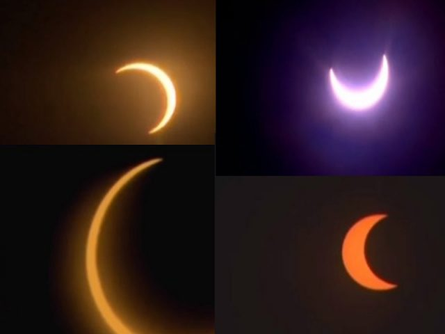 Solar eclipse: Cloud spoils celestial treat in many places
