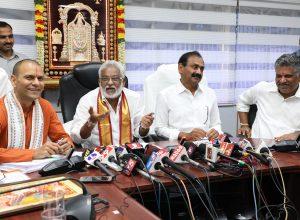 Ramana Dikshitulu is back as Pradhana Archaka of Tirumala