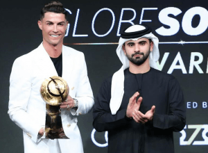 Cristiano Ronaldo bags best men's player title at Dubai Globe Soccer Awards