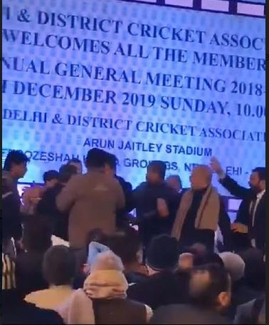 Fistfight, abuses dominate DDCA meeting; Gambhir urges Ganguly to dissolve cricket body