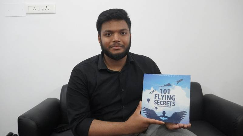 101 Flying secrets: Debutant Hyderabadi author unfolds secrets about aviation