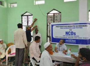 Mosque turns screening centre for non-communicable diseases