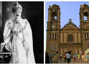 When the Nizam attended the midnight Mass in St. Joseph's Cathedral