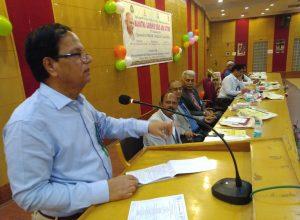 'Gandhi still relevant in any democracy': Prof Purushotham Reddy