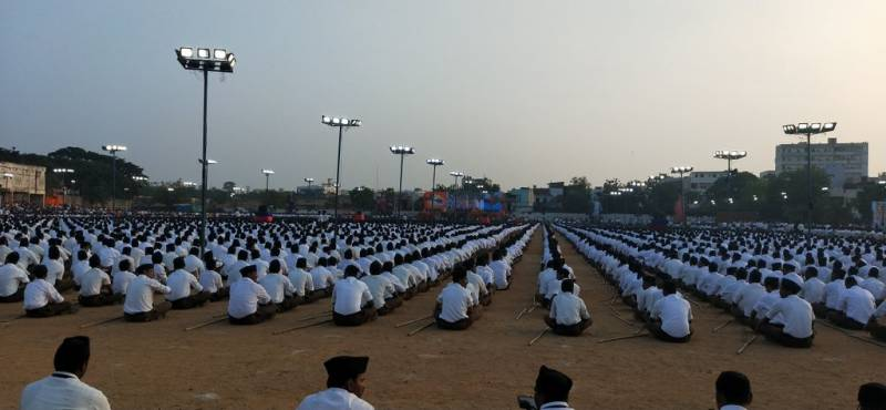 'India will stay together in the Hindu way' says Mohan Bhagwat at RSS's first Telangana state meeting