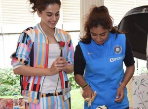 Taapsee Pannu confirms playing the cricketer Mithali Raj in 'Shabaash Mithu'