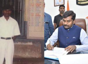 Gandham Chandrudu's journey from ticket collector to district collector