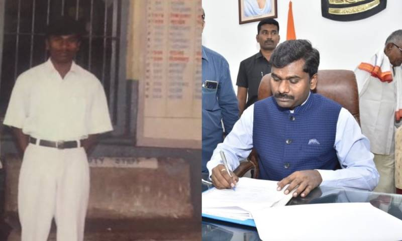 Gandham Chandrudus journey from ticket collector to district collector