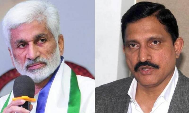 War of words between Vijaysai Reddy & Sujana Chowdary in AP