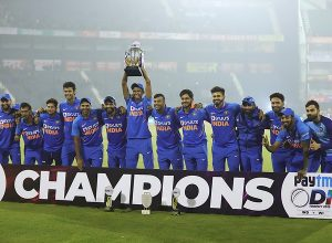 India beat Windies by 4 wickets to clinch series 2-1