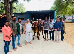 Chilkur temple gifts oxen to poor farmer