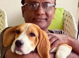 Bingo, the lost Beagle, finds his way home, thanks to GHMC dog park