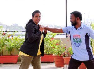 Self-Defense techniques for women by N Lakshmi