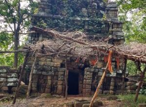 Devuni Gutta temple in Mulugu lies in state of neglect