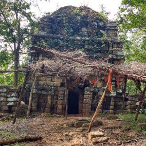 Devuni Gutta temple in Mulugu lies in state of neglect
