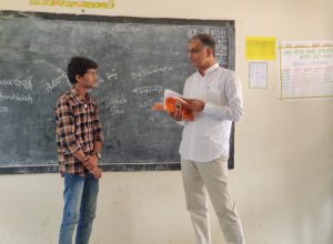 Students can't write names in Telugu, says minister Harish Rao after surprise check