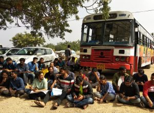 Police detains HCU, TISS students protesting against CAA