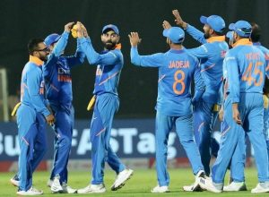India level series 1-1 with all-round performance in Vizag