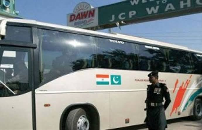 Karwan E Aman indo pak bus