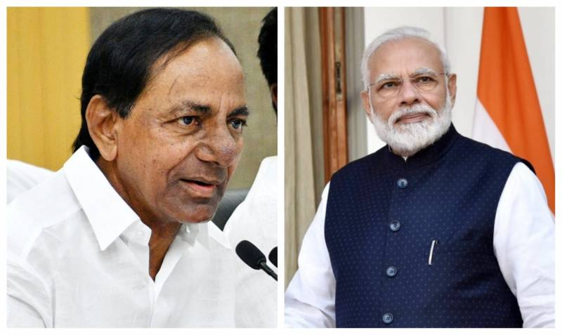 KCR asks Modi not to resume train services