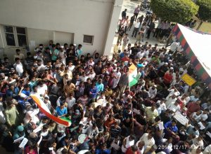 After MANUU, Osmania University and HCU, Nalsar Law School students rise in solidarity with Jamia