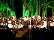 Hyd Navy house celebrates the navy day with a band concert
