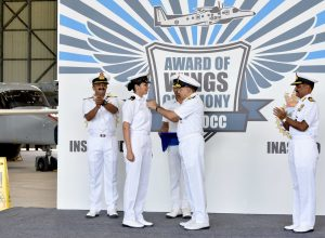 Glass ceiling broken: Navy gets its first female pilot