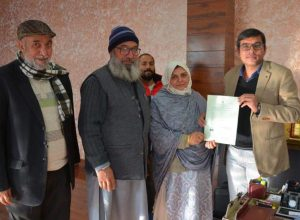 Centre grants citizenship to Pakistani woman in J&K
