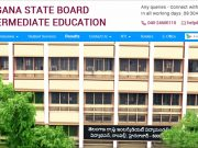 Telangana Intermediate Exam: TSBIE ropes in state-run firm to process results