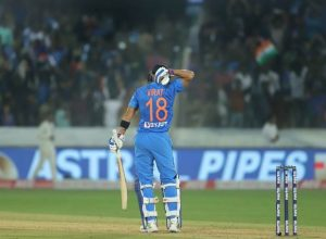 Virat Kohli's 94* powers India to victory against the Windies in the first T20