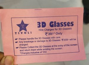 Movie-goers slam Tivoli Cinemas for collecting 3D glass charges