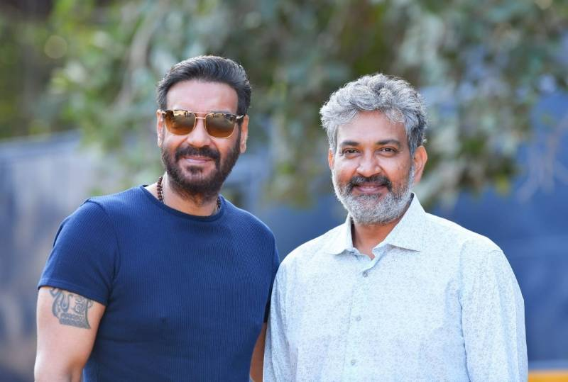 Ajay Devgn starts shooting for SS Rajamouli film 'RRR'