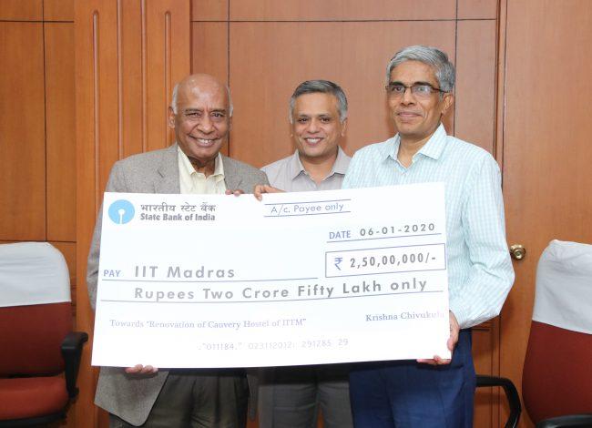 IITM alumnus gifts Rs 5 crore to upgrade college hostel
