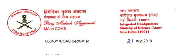 Brig Mukesh Aggarwal