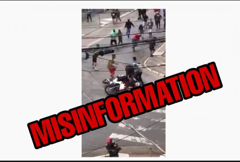 Fact Check: Does this video really show France police shooting Muslim immigrants?